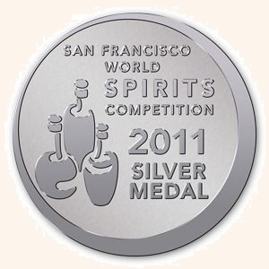 Worlds Spirits Silver Medal 2011 - colored background